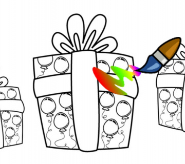 BOJANKE: Vesele rođendanske bojanke