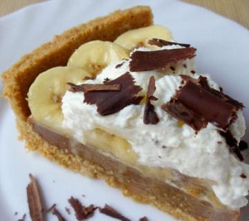 Banoffe pita s bananama i karamelom
