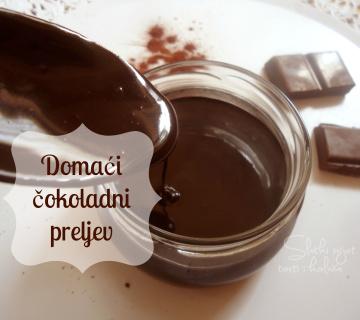 Domaći čokoladni preljev