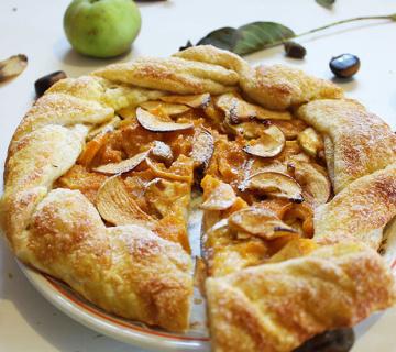 Galette s jabukama i bundevom