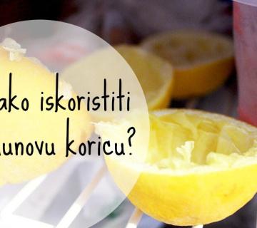 Kako iskoristiti limunovu koricu?