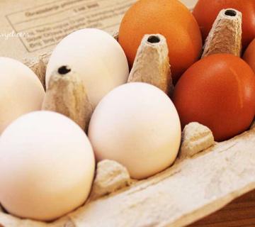 Kako izbijeliti jaja?