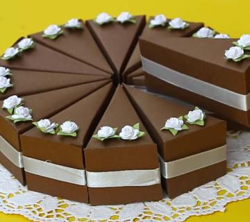 Kako napraviti tortu od kartona ili papira?