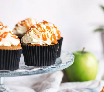 Cupcakes od jabuka i karamele