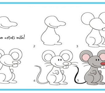 UČIMO CRTATI: Uz malu pomoć crtanje je lako