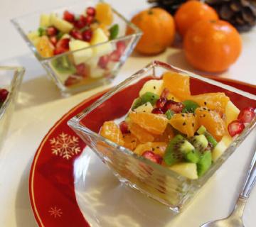 Voćna salata od miješanog voća