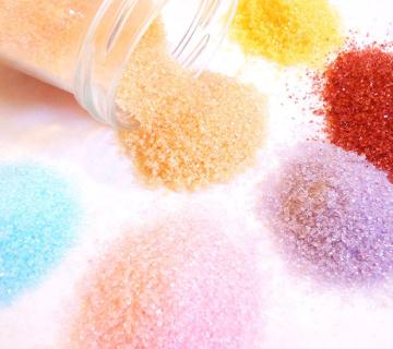 Kako napraviti šećer u boji?