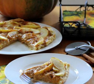 Tart s bundevom i jabukama