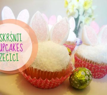 Cupcakes - Uskršnji zečići