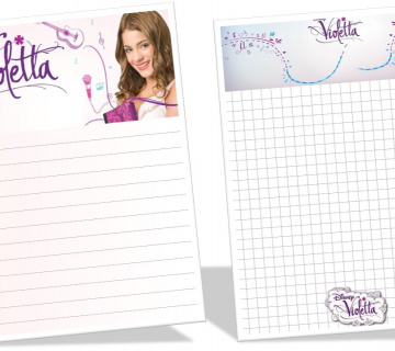 Violetta: Radni listovi za printanje