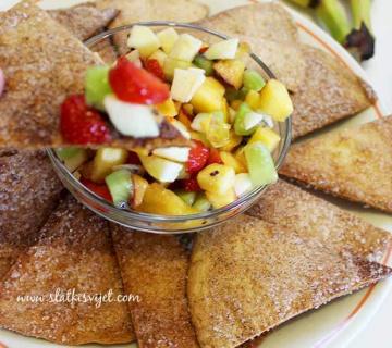 Voćna Salsa & Slatki Tortilla chips