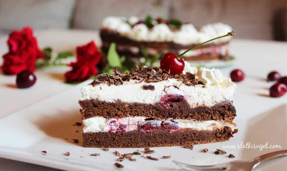 tårta schwarzwald recept