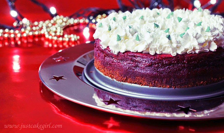 bozicni cheesecake red velvet recept