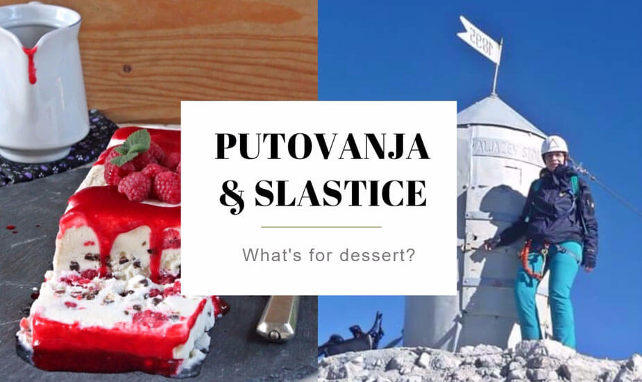What's for dessert: Zanimljiv blog o slasticama i planinarenju