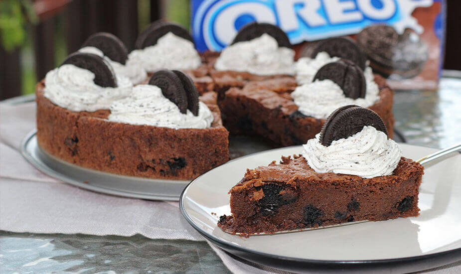 oreo brownie torta kolac recept 2