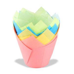 papirnate kosarice za muffine tulipan