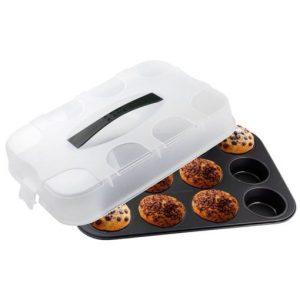 Kvalitetan kalup za muffine s poklopcem