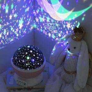 djecja nocna lampa projektor