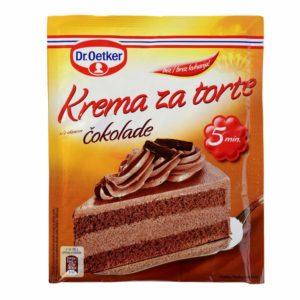 krema za torte cokolada dr oetker