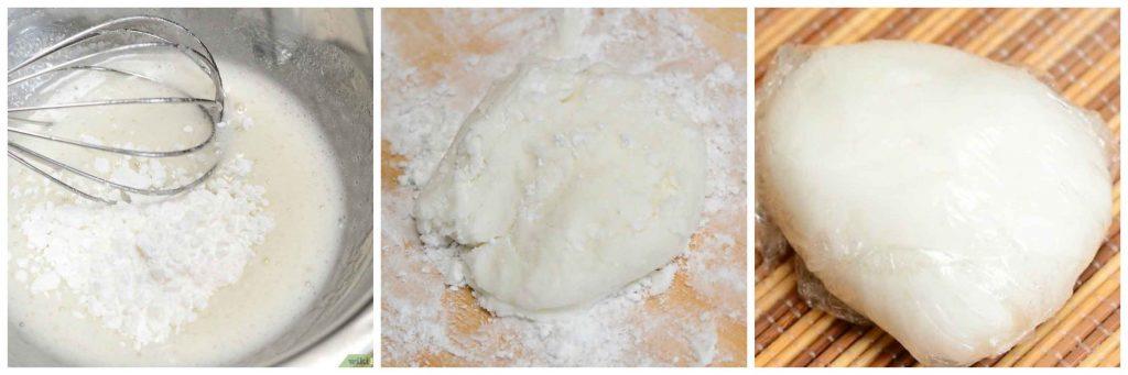 kako napraviti ticino fondan smjesu za tortu u boji recept