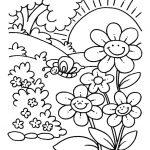 proljetne bojanke za djecu za printanje