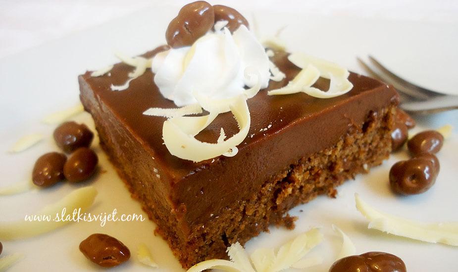cokoladni ganache kolac
