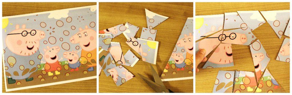 napravi sam puzzle od papira