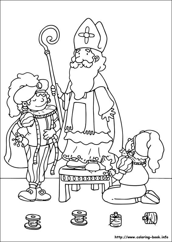 Afbeelding Kind Geeft Kleurplaat Bojanke Za Djecu Sveti Nikola Zabavni Kutak Za Djecu