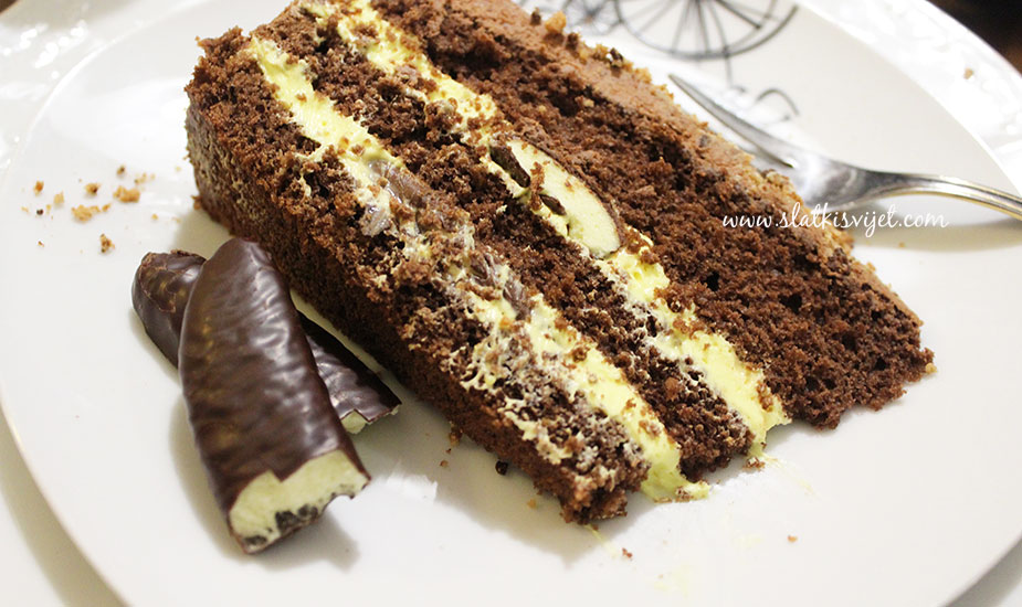 cokoladna bananko torta