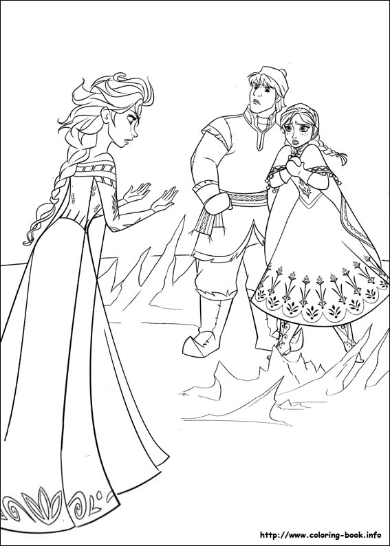 Christopher Frozen Coloring Pages