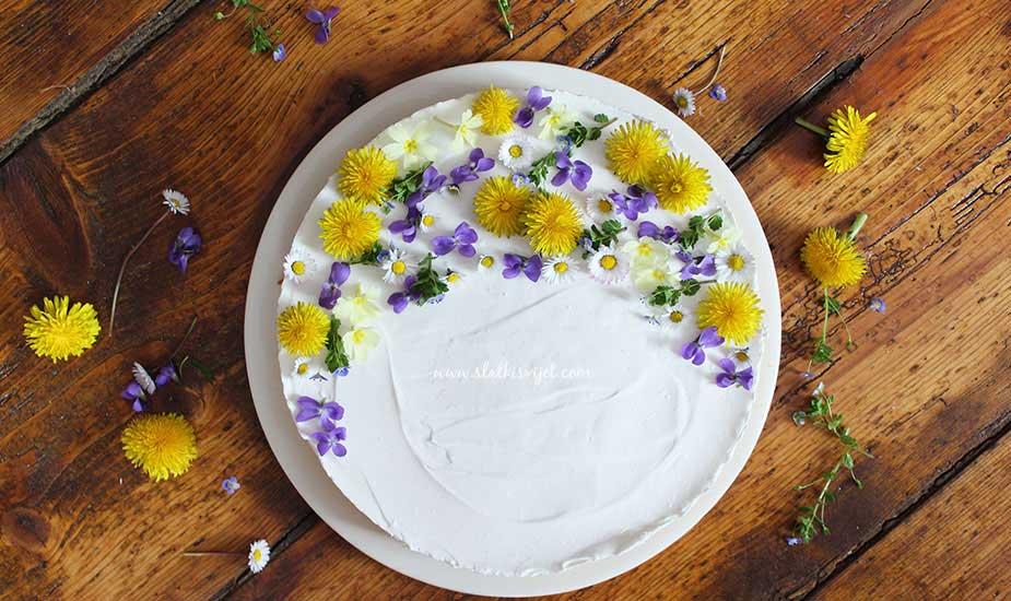 lagana jogurt tora dekoracija jestivo cvijece