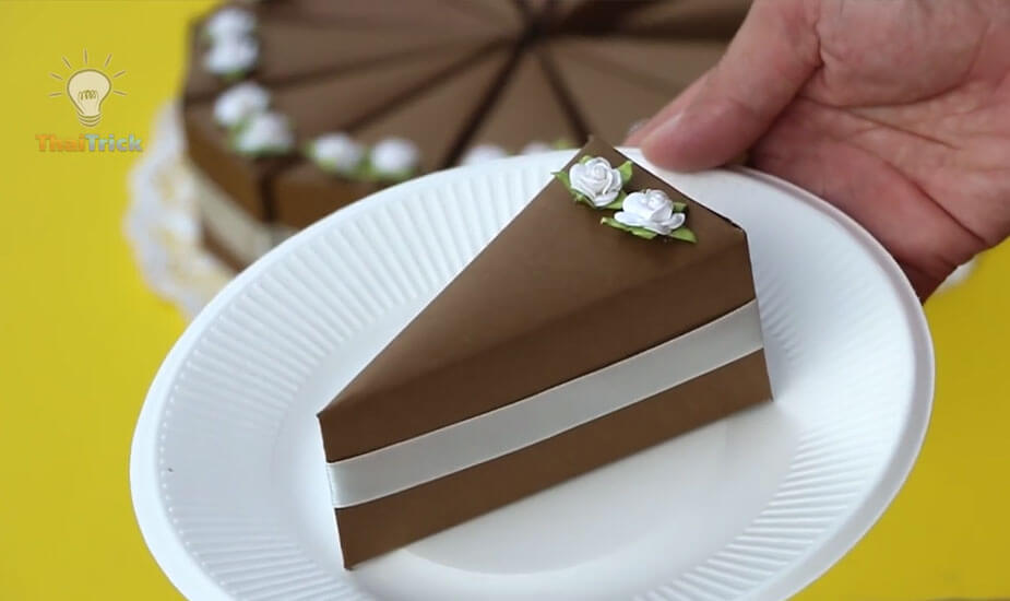 kako napraviti tortu od kartona papira uradi sam video