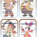 rodjendanske pozivnice za printanje za djecu jani nigdjezemski gusari