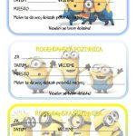 rodjendanske pozivnice za printanje za djecu minions malci
