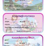 rodjendanske pozivnice za printanje za djecu princeza sofija prva