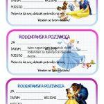 rodjendanske pozivnice za printanje za djecu disney princeze