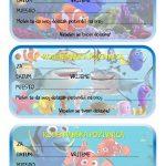 rodjendanske pozivnice za printanje za djecu riba nemo