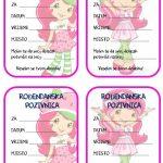 rodjendanske pozivnice za printanje za djecu jagodica bobica