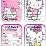 rodjendanske pozivnice za printanje za djecu hello kitty
