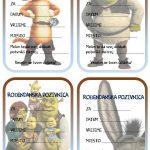 rodjendanske pozivnice za printanje za djecu shrek