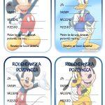 rodjendanske pozivnice za printanje za djecu mickey mousse