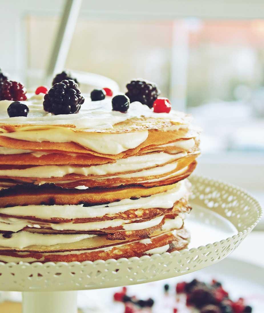 torta od palacinki ljetni deserti koji se ne peku kolaci bez pecenja