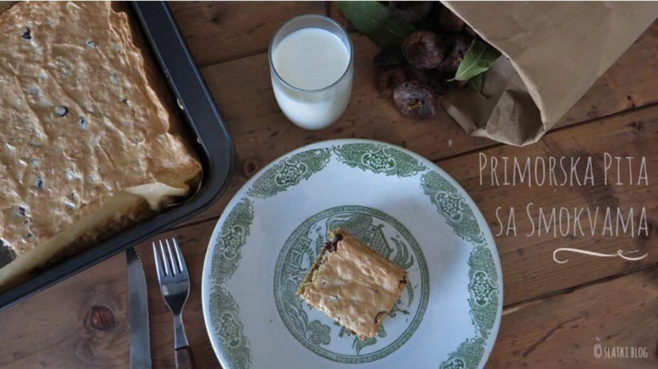 primorska pita sa suhim smokvama i datuljama