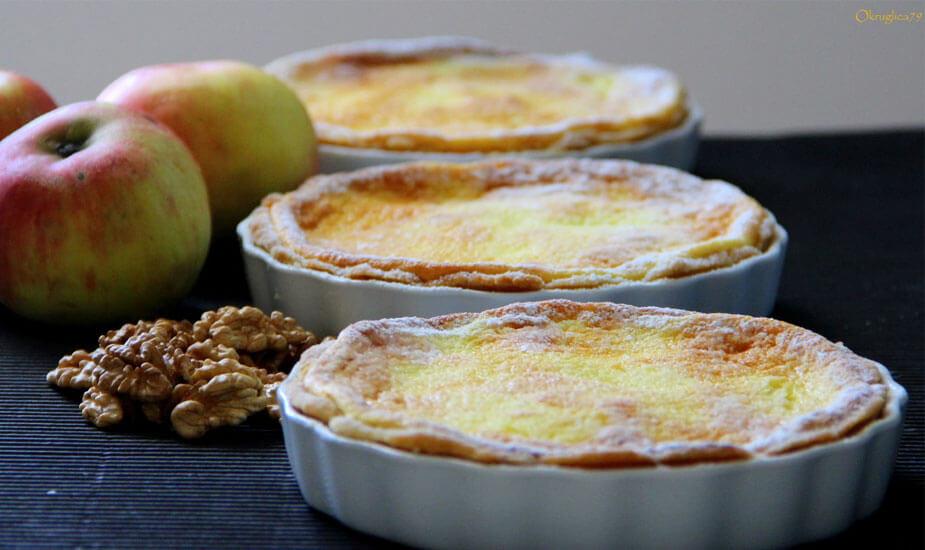 mini pite s jabukama orasima vrhnjem recept