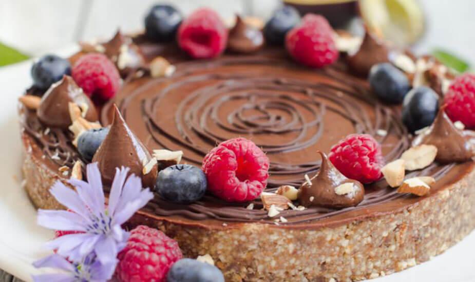zdrava pita od sljiva i cokolade