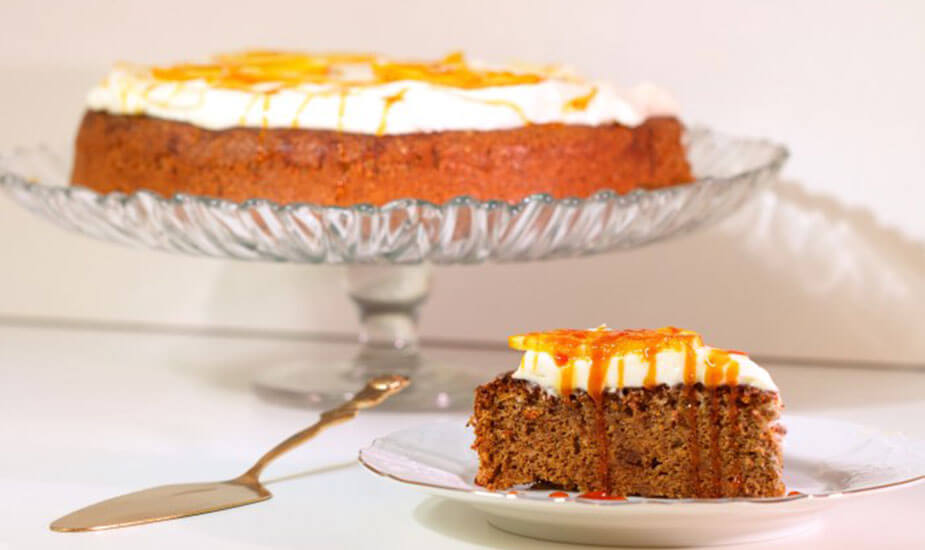 bozicna blagdanska torta od oraha i narance