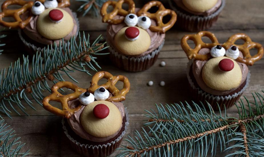 cupcakes bozicni sobovi recept