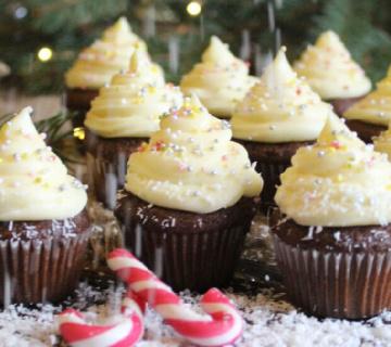 Božićni mini cupcakes
