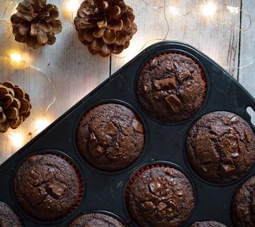 Jednostavni čokoladni muffini