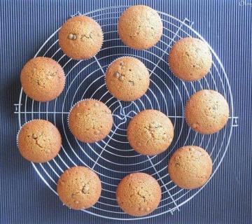 Jesenski muffini s bundevom i čokoladom